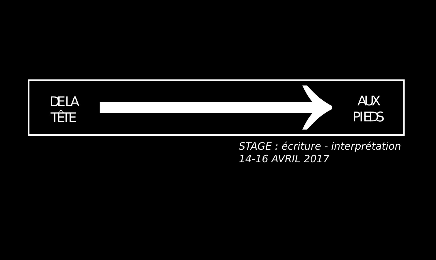 Stage en Auvergne : de la tête aux pieds